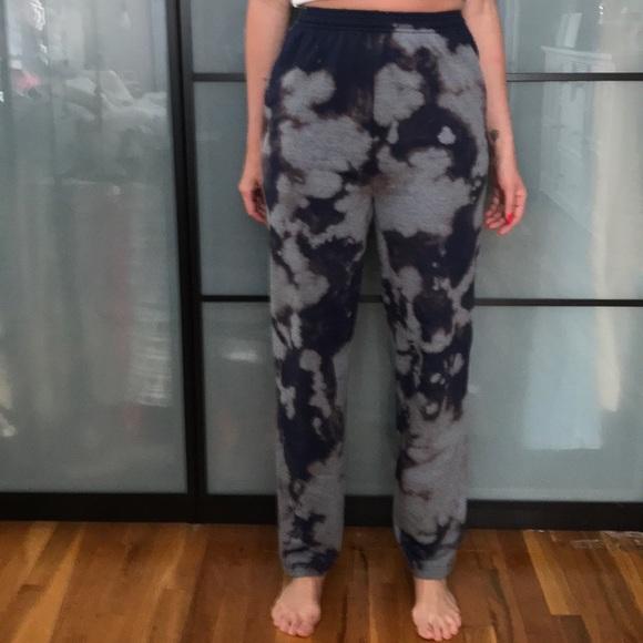 Reverse Tie Dye Sweatpants